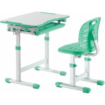 Парта со стулом FunDesk Piccolino III Green