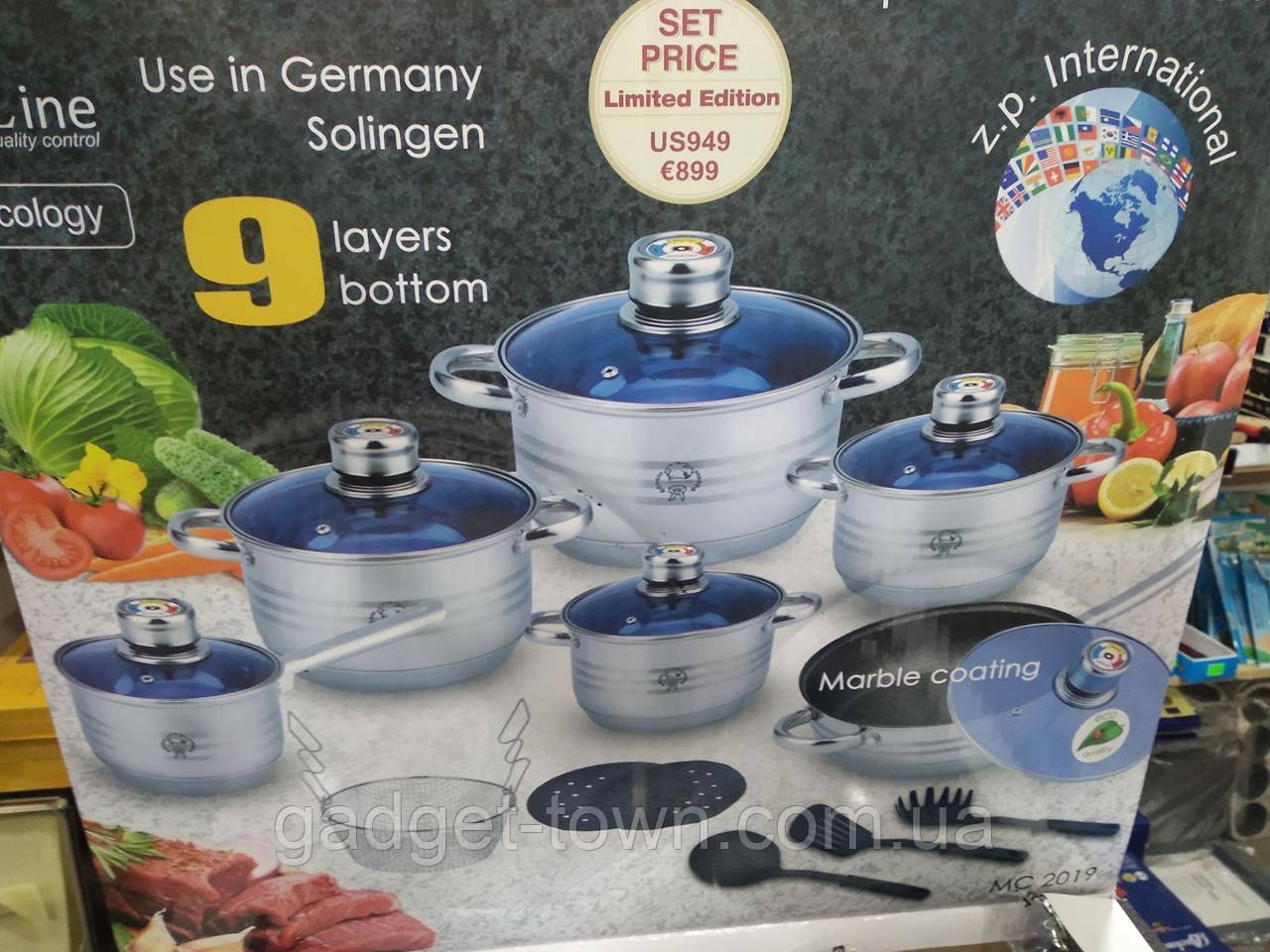 Набор посуды для кухни Z.P. international (18 предметов) лимитированная версия