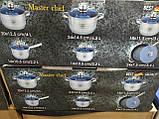 Набор посуды для кухни Z.P. international (18 предметов) лимитированная версия, фото 4