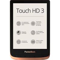 Електронна книга PocketBook 632 Touch HD 3 Spicy Copper (PB632-K-CIS)