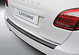 Пластикова захисна накладка на задній бампер для Porsche Cayenne 2010-2014, фото 4