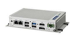 Промышленный компьютер Intel Atom E3845, 4ГБ DDR3L, HDMI, DP, 2xLAN, 4xCOM, 3xUSB 2.0, 1xUSB 3.0, 2 x mPCIe