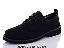 Туфли женские черные Teetspace-Trasta-Egga-ND109-2