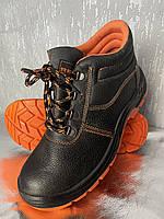 Ботинки рабочие с металлическим носком BRYES-T-SB