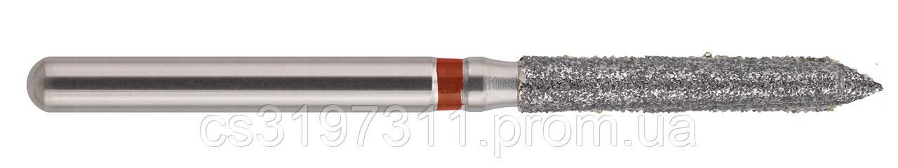 Бор стоматологический алмазный (цилиндр с усеченным окончанием) 131-016F