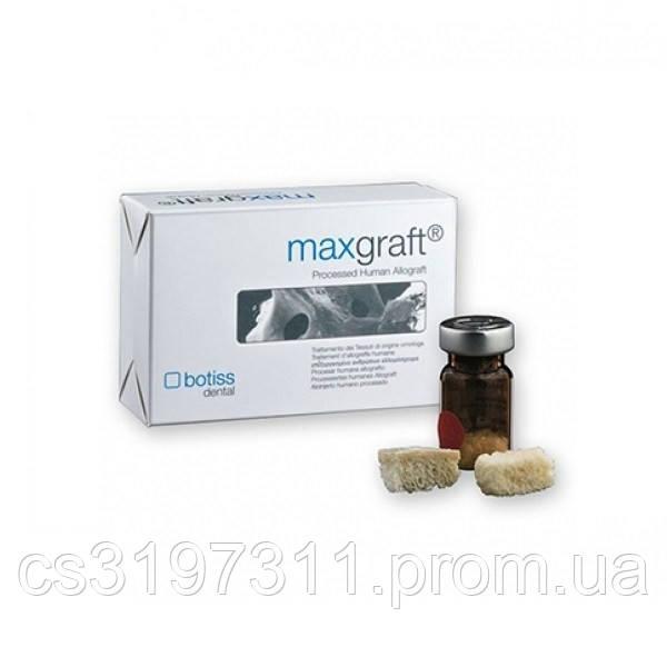 Кістковий замінник (алокость), кірково-губчастий матеріал MaxGraft, 2 см3