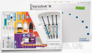 Стоматологічна композитна система подвійного та світлового затвердіння Variolink N Professional Set (632325)