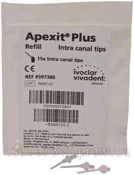 Інтраоральні насадки Apexit Plus, 15 шт. (597380)