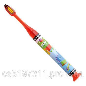 Детская зубная щетка GUM JUNIOR MONSTER LIGHT-UP, от 7 до 12 лет