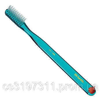 Зубная щетка GUM CLASSIC, компактная, жесткая