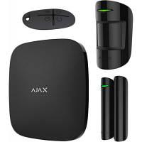 Комплект охоронної сигналізації Ajax StarterKit Plus - Hubkit Plus /Black (StarterKit Plus /Black)