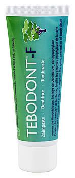 Зубна паста з маслом чайного дерева Dr. Wild Tebodont (Melaleuca Alternifolia) і фторидом, 75 мл