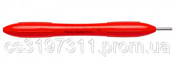 Ручка для стоматологического зеркала (цвета: красный, серый, голубой) LM 25, ручка xsi
