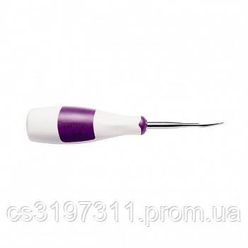 Люксатор вигнутий для атравматичного видалення зубів, 4 мм LM 812840