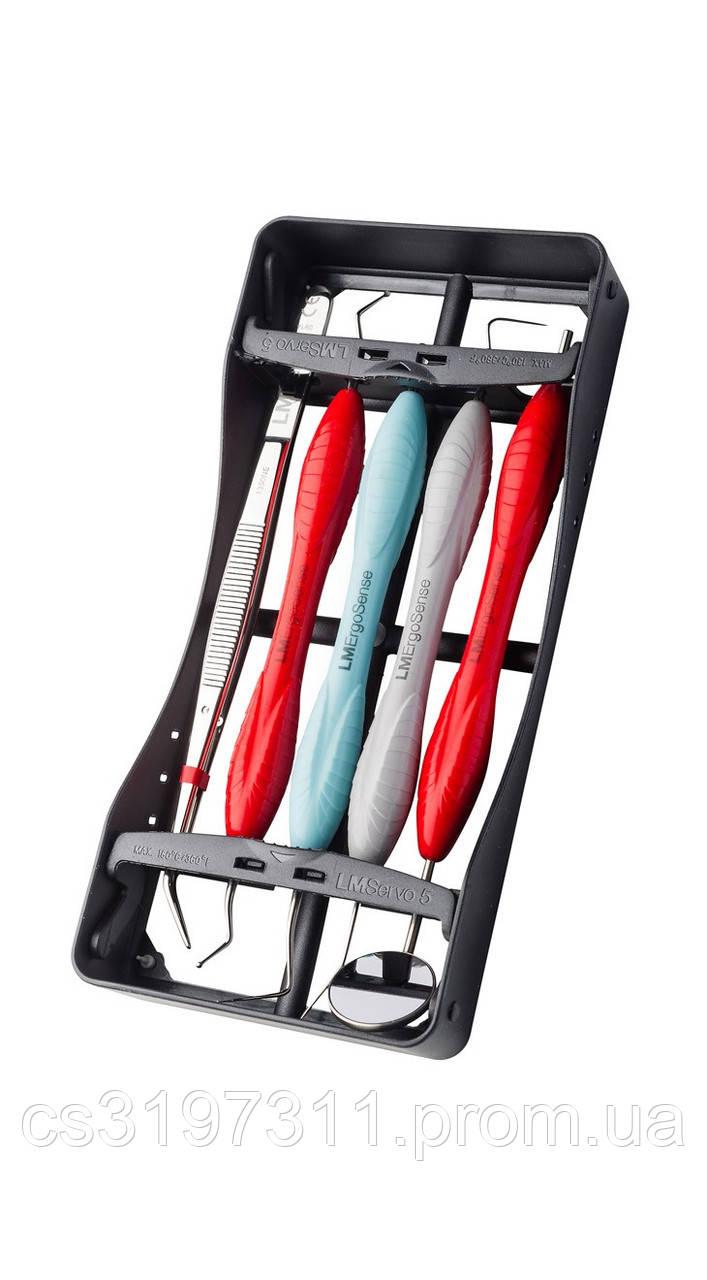 Набор для стоматологического осмотра на 5 инструментов LM 6651, ручка XSI