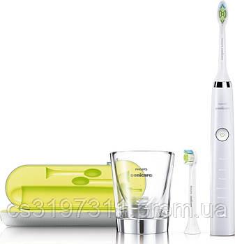 Звуковая зубная щетка Philips Sonicare DiamondClean White HX9332/04
