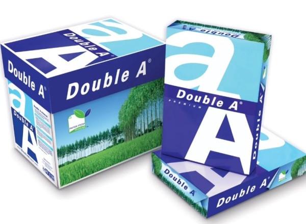 Бумага Double A Premium A4 80г / м, 161% 500л.