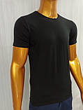 Мужская футболка MSY. 42636-8182(ч). Размеры: M,L,XL,XXL., фото 3