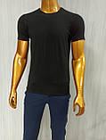 Мужская футболка MSY. 42636-8182(ч). Размеры: M,L,XL,XXL., фото 4