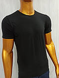 Мужская футболка MSY. 42636-8182(ч). Размеры: M,L,XL,XXL., фото 2
