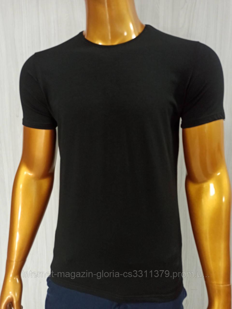 Мужская футболка MSY. 42636-8182(ч). Размеры: M,L,XL,XXL.