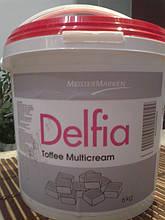 Крем кондитерський карамельний CSM Delfia Toffe 6кг/відро