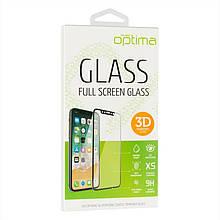 Защитное стекло Optima 3D Full Glue для Samsung A415 A41 Black