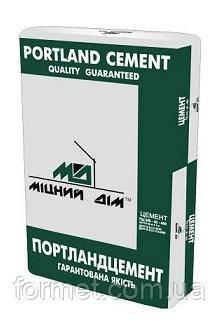 Цемент ПЦ-400  25кг  (Міцний Дім)