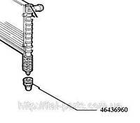Втулка крепления радиатора нижняя Fiat Doblo