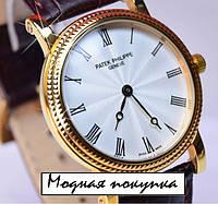 Класссические мужские механические часы Patek Philippe PP6105, фото 1