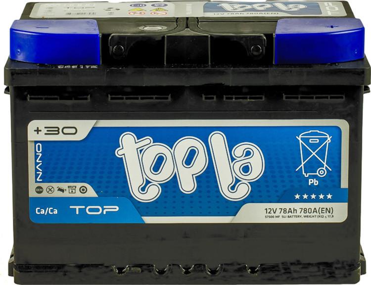 Topla 6СТ-78 TOP Автомобильный аккумулятор