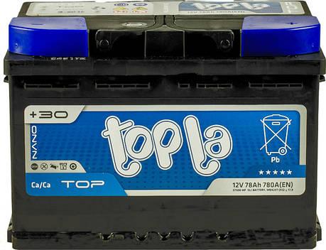 Topla 6СТ-78 TOP Автомобильный аккумулятор, фото 2