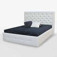 Кровать двуспальная с мягким изголовьем и подъемным механизмом Франко SF-49-FR MiroMark