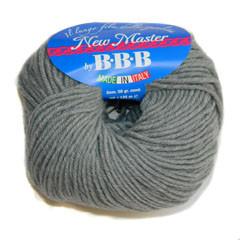 Пряжа для вязания НЬЮ МАСТЕР Италия цвет св. серый 302