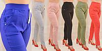 Женские брюки/Штаны стрейч  2XL\3XL,3XL\4XL,4XL\5XL,5XL\6XL Черние/Електрик/Красние /Оливка/Серие/Пудра хлопок