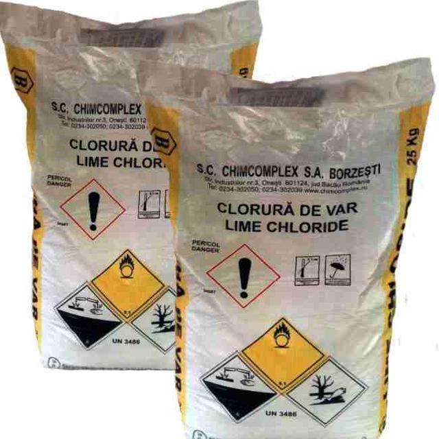 Хлорная известь  (хлорка) для дезинфекции в мешках