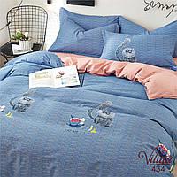Подростковое постельное белье Сатин Вилюта 434