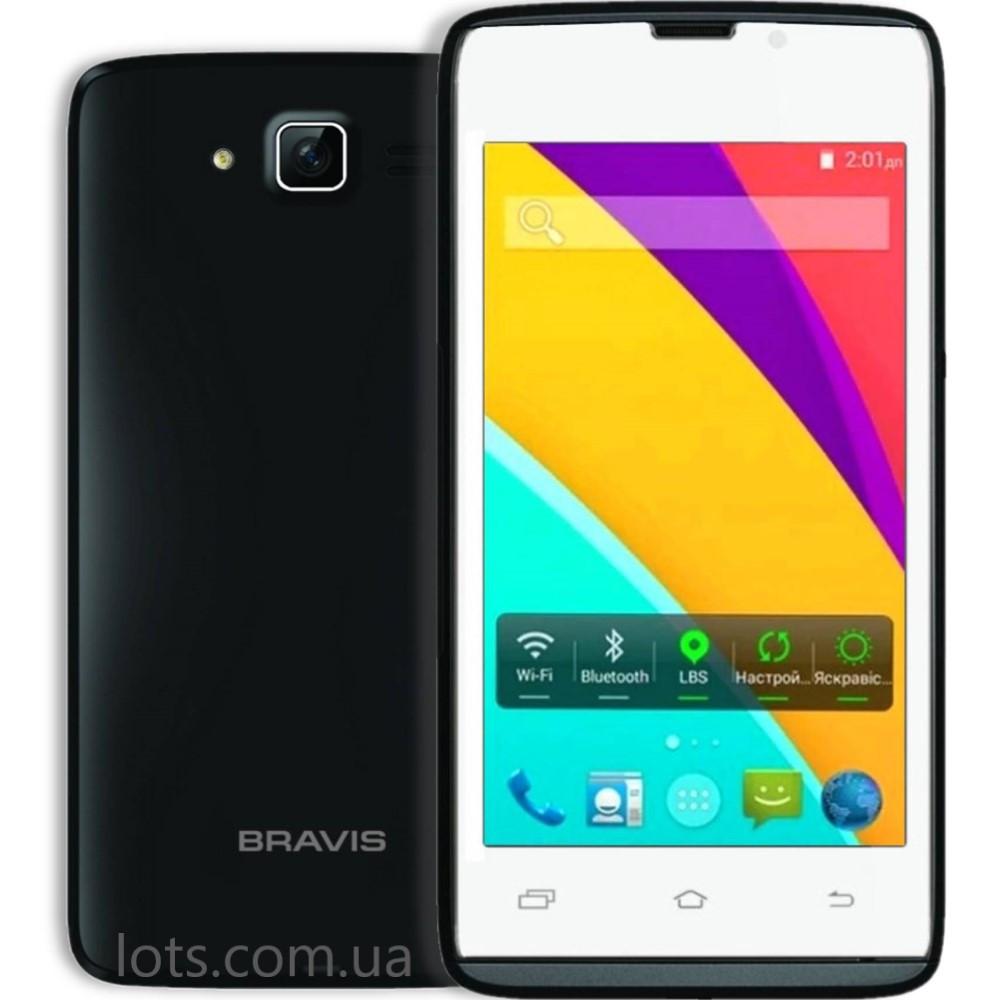 Смартфон Bravis Air White-Black (2-SIM)