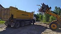 Вывоз строительного мусора,пней,бытового мусора  30 тонником Киев,Вышгород,Бровары,Васильков