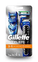 Бритва-стайлер Gillette Fusion ProGlide Styler с 1 сменной кассетой ProGlide Power + 3 насадки