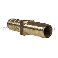 Трубка сполучна 10х10 мм латунь, фото 1