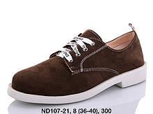 Туфли женские коричневые Teetspace-Trasta-Egga-ND107-21
