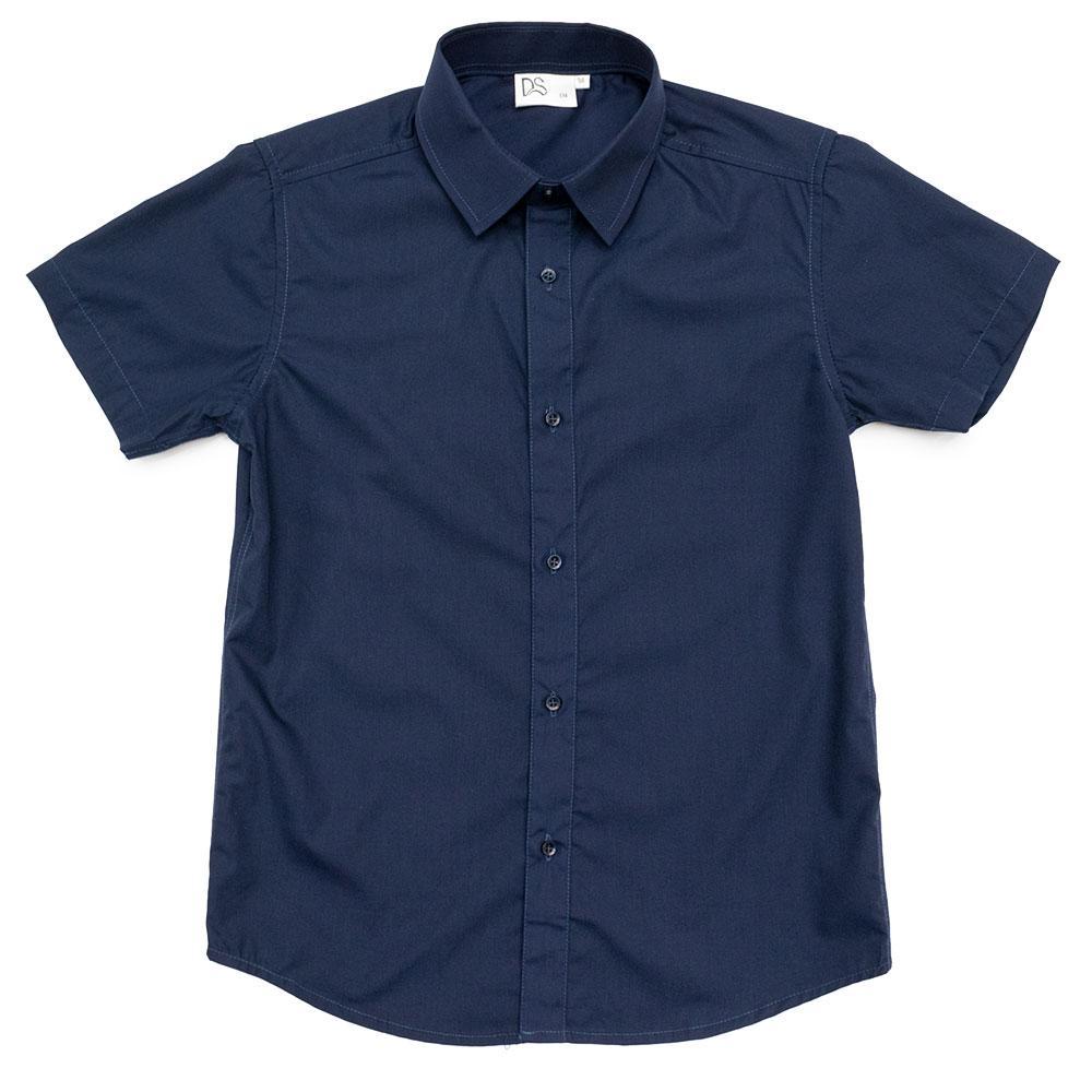 Рубашка для мальчиков Deloras Китай 122  синяя 981056