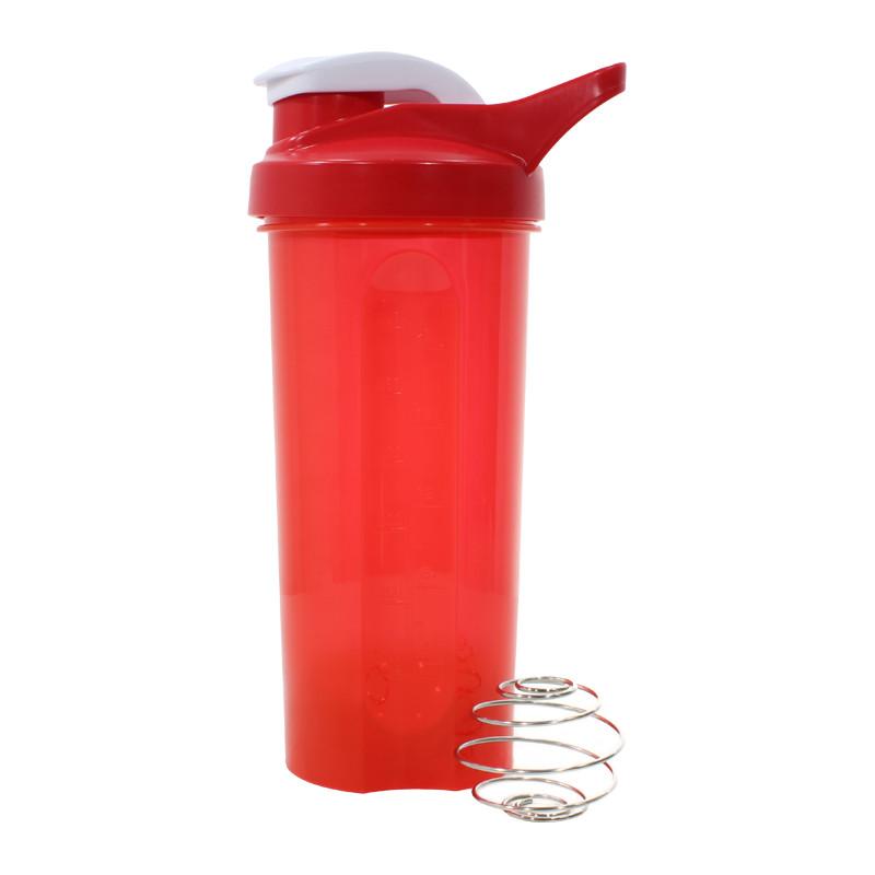 Спортивная бутылка для воды Lesko HC45 Red 600ml энергетических коктейлей спортсменов
