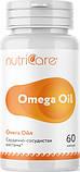 Омега Ойл (Omega Oil) Nutriсare Арго 60 капсул – источник Омега 3 и витамина Е, рыбий жир, фото 2