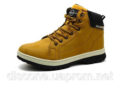 Ботинки зимние мужские BaaS,  песочные