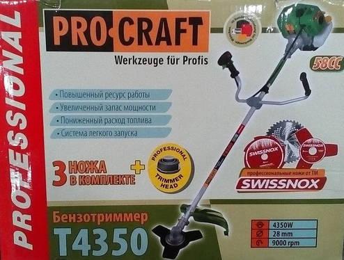 Бензокоса Procraft Т4350, фото 2