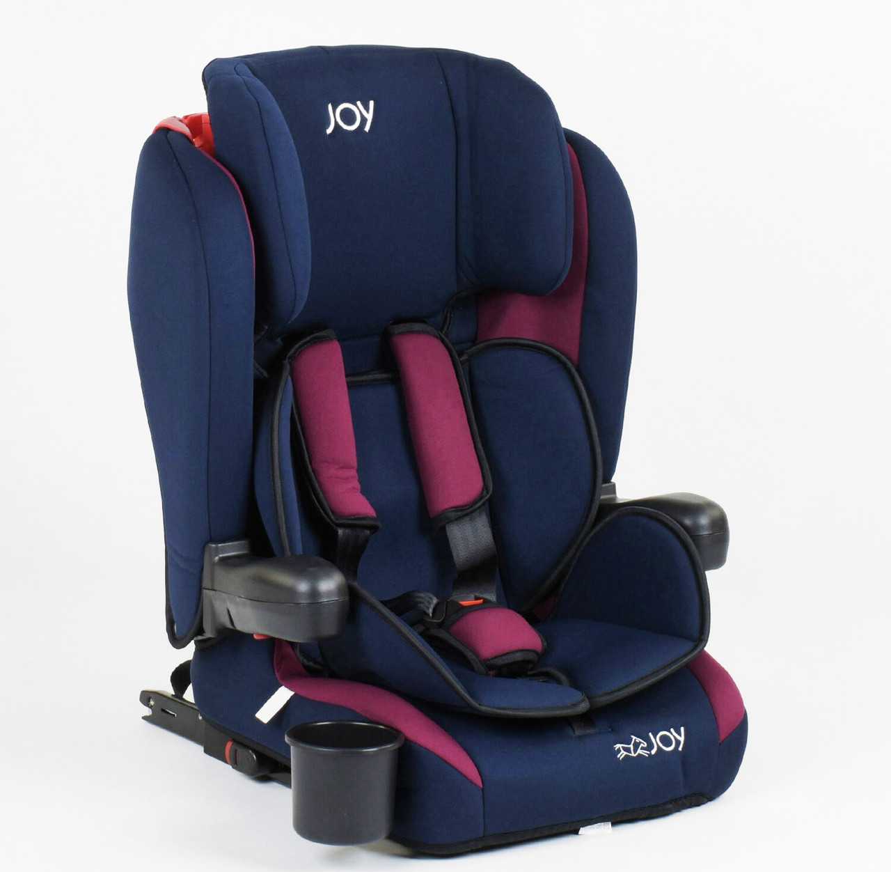 Дитяче автокрісло JOY система ISOFIX універсальне, Темно синій колір