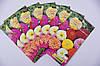 Семена цветов Цинния (Майоры) Пионоподобные 0.5г (Малахiт Подiлля), фото 4