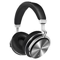 Беспроводные Bluetooth наушники Bluedio T4 с металлическим каркасом (Черный)
